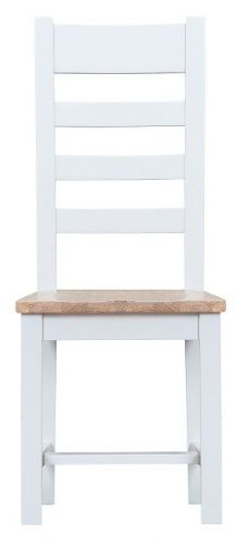 Tunbridge Ladder Back Wooden Seat Dining Chair